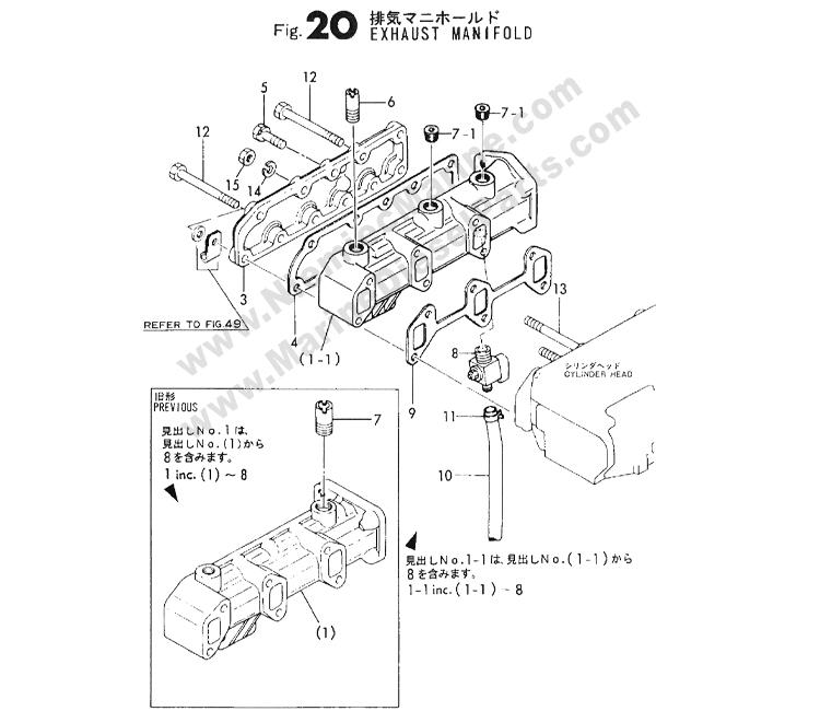 yanmar 3gm30f parts diagram